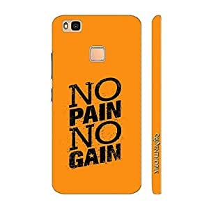 Enthopia Designer Hardshell Case No Pain No Gain Back Cover for Huawei P9 Lite