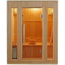 Sauna tradicional finlandesa 3 personas zen ZEN3