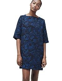 MANGO - Vestido - Casual - para Mujer Azul BLU Navy S