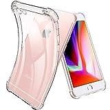Joyguard Coque iPhone 6s, Coque iPhone 6 Premium TPU Souple Silicone Plating Coquille [Cadeau Ecran en Verre Protecteur] [Crystal Clear] Housse Bumper pour iPhone 6s/6-4.7pouces - Transparent