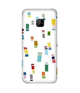 Crayon Colours HTC One M9+ Case