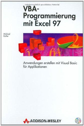 VBA-Programmierung mit Excel 97.