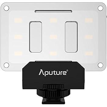 Aputure AL-M9 Mini LED Light for Video Filming and Macro Photography - Black