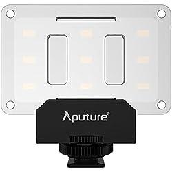 Aputure Al-m9Mini LED Lampe de Vidéo pour Filmer et Photographie Macro-Noir