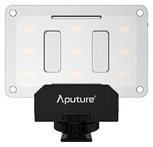 Aputure Al-m9Mini LED Lampe de Vidéo pour Filmer et photographie macro–Noir