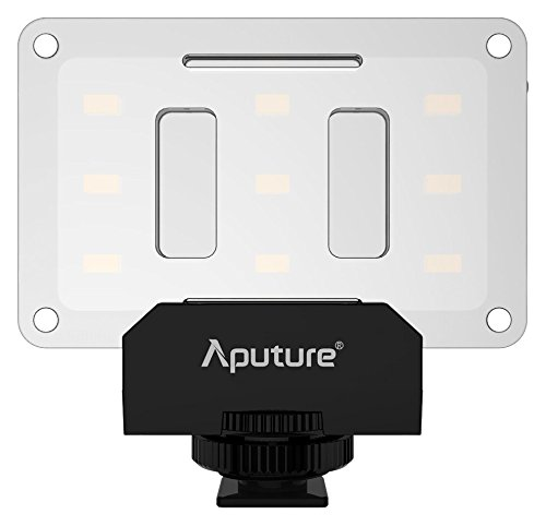 aputure al-m9 mini led per riprese video e macrofotografia - nero