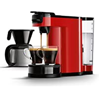 Senseo HD7892/80 Switch 2-in-1 Kaffeemaschine für Filter, Rot