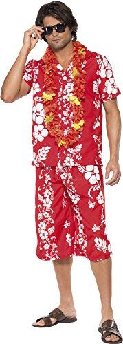 Smiffys-Disfraz-de-hawaiano-para-hombre-talla-UK-38-33070M