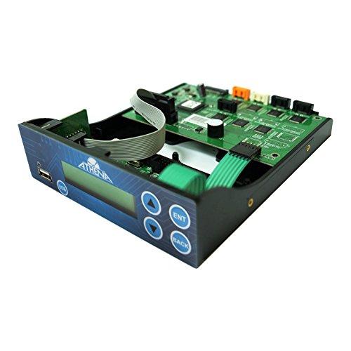 Athena Duo Serie Controller mit SATA-Anschlüsse für USB Flash Memory, BD-R CD DVD Disc Vervielfältigung (dp-fu0-u903) (Memory Stick Duo-medien)