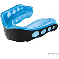 Shock Doctor Adult Gel Max Mouth Guard, Blue/Black, Youth