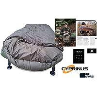 CyprinusTM Deepsnooze 5 Season Carp Saco de Dormir + Rig Guide RRP £105