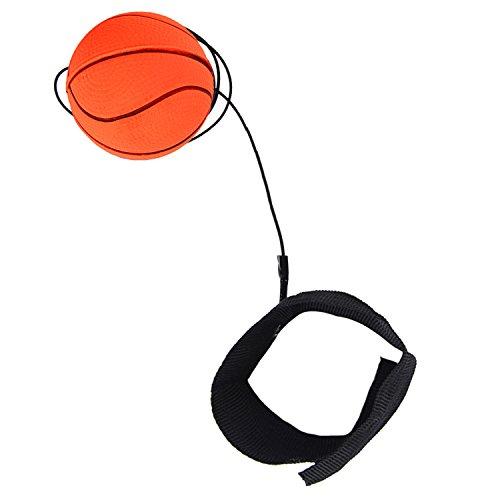 Joyibay Handgelenk Band Ball, Zeichenfolge Ball Spielzeug Stress Linderung Federnd Ball Gummi Ausbildung Ball Spielzeug für Kinder -