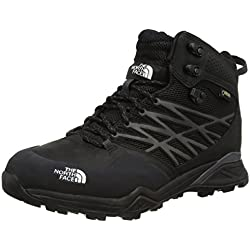 The North Face M Hedgehog Hike Mid GTX, Hombre Botas de Senderismo, Negro, 42 1/2