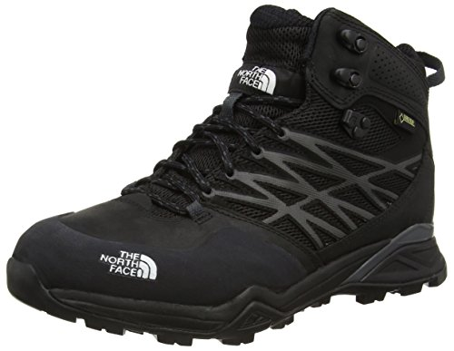 The North Face M Hedgehog Hike Mid GTX, Hombre  de senderismo, Negro, talla 11