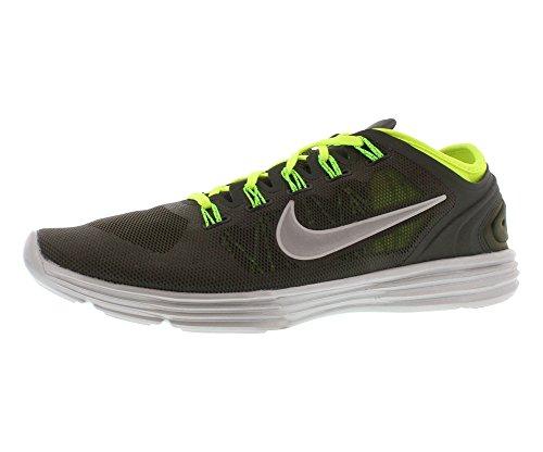 Nike , Chaussures de running pour homme SQ/RFLCT SLVR-VLT-ELECTRC GRN