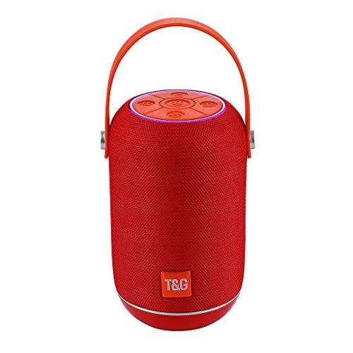 SKays Neu Bluetooth Lautsprecher Bluetooth-Lautsprecher Wasserdicht Mini Indoor Outdoor Bester Klein Anker Bass Tragbarer Party Stereo Lautspreche (B) (Cd Dusche Radio)