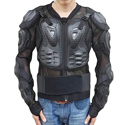 Luckycat Motorrad Ganzkörper Rüstung Jacke Motocross Racing Spine Chest Protecto Mantel Winterjacke Steppjacke Daunenjacke Parka Mäntel Jacken