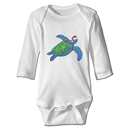 WBinHua Bodys et Combinaisons, Turtle Beach Sea Christmas Cap Baby Toddler Long Sleeve Onesies Bodysuits