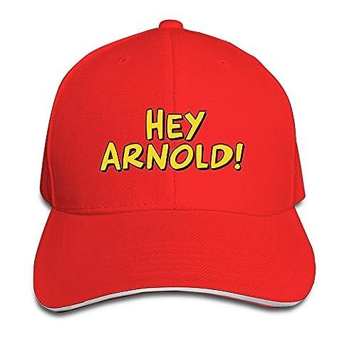 YSC-Dier Black Hey Arnold Logo Adjustable Cap