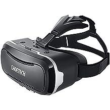 3D VR Gafas de Realidad Virtual CHOETECH Auriculares 3D Caja 3D VR con Ajustable Lente y Correa para iPhone,Samsung,HTC, LG y otros telefonos inteligentes 3.5-6 pulgadas