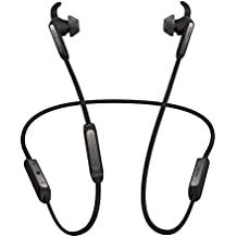 Jabra Elite 45E Auricolari Stereo Neckband Wireless Bluetooth 5.0, Nero e Titanio