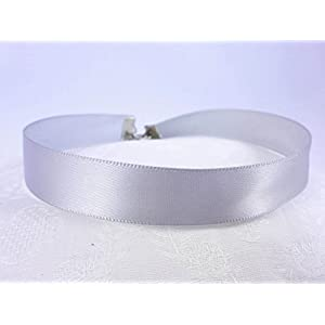 Choker Halsband grau