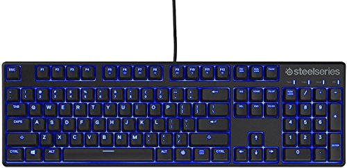 SteelSeries Apex M500, Gaming Keyboard, Mechanical, Cherry MX Red, Blue Backlit, (PC / Mac) – UK Layout 41bQ01YSdPL