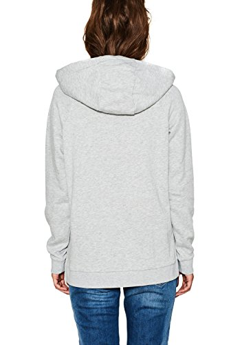 edc by Esprit, Sweat-Shirt Femme Gris (Light Grey 5 044)