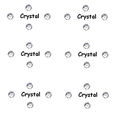 Cristaux Swarovski – Crystal Clair 50 pierres SS5 – Elements env. 1,8 mm