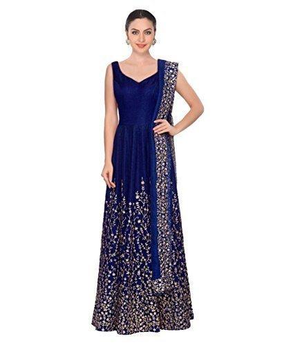 Hirva collections Tafeta Silk Bridal Anarkali Salwar Suit