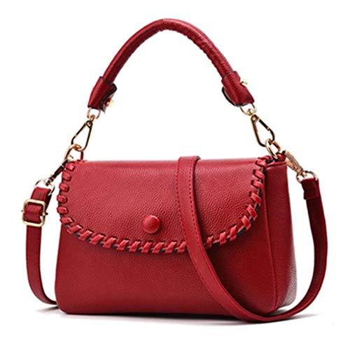 Frauen Handtasche Crossbody Schulter Messenger Bags Red One Size