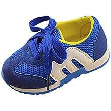K-youth® Zapatillas Niño, Zapatillas Para Bebés Zapatos de Bebé Zapatillas de Deporte Transpirables Antideslizante Huecas de Malla
