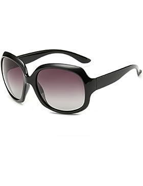 Gafas de sol polarizadas de las señoras/Gafas de sol de moda imprescindible de viaje/Espejo de conductor rana