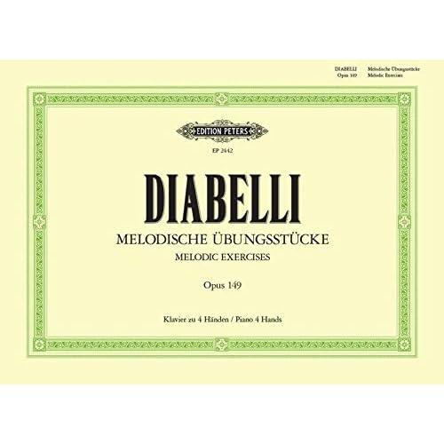 Diabelli - Melodische Übungsstücke Opus 149 - Klavier zu Handen / Piano Duet