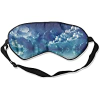 Cloudy Sky Moon Stars 99% Eyeshade Blinders Sleeping Eye Patch Eye Mask Blindfold For Travel Insomnia Meditation preisvergleich bei billige-tabletten.eu