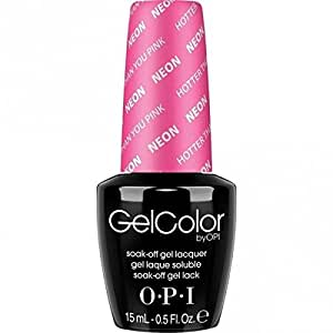 Gelcolor OPI Hotter Than You Pink