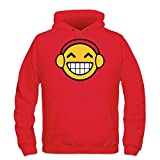 Shirtcity Headphones Smiley Kapuzenpulli by