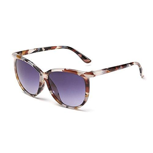Z-P New Style Dazzling Colors Anti-UV Vintage Concise Geek Unisex Sunglasses Multi-color (Der Designer Flieger Kostüm)