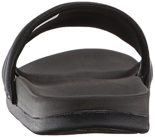 Adidas Performance Adilette super Nuage plus Sandal, noir / argent / noir, 5 M Us Black/Silver/Black