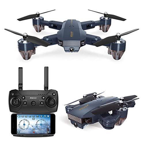 WANTOOSE RC-Fernbedienung und App-gesteuerte Quadrocopter-Drohne WiFi-Kamera Live-Video-Streaming-Höhe Halten Sie GPS FPV für Anfänger