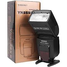 Yongnuo YN-568EX II - Flash con brazo para Speedlite Canon 5D 7D 60D 50D LF246, negro