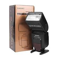 YN-568EX II est la 2eme generation du YN-568EX. La difference entre ces deux generations, ce est que l'YN-568EX II peut etre un flash maitre, tandis que le YN-568EX peut pas. Par ailleurs, ils sont identiques. New concu Yongnuo flash Speedlite YN-568...