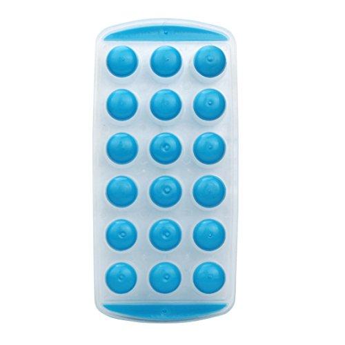 sunshineBoby 1PC Silikon-Eis-Würfel-Gelee-Schokoladen-Frucht-Kuchen DIY Form-Form-Behälter-Pudding, Eiswürfelform Eiswürfelbehälter Würfel Eiswürfel Form Silikon,Eiswürfelform, Silikon Eiswuerfel Form Eiswuerfelbehaelter Mit Deckel Ice Tray Ice Cube, Kühl Aufbewahren (Zufällig E)