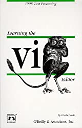Learning the vi Editor (Nutshell Handbooks) by Linda Lamb (1990-10-11)
