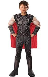 Rubies - Disfraz Oficial de Los Vengadores Endgame Thor, Talla M, Edad 5 - 7, Altura 132 cm