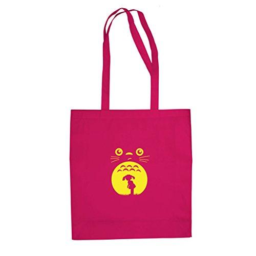 Mein Nachbar - Stofftasche / Beutel Pink