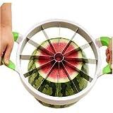 Japace® Melone/anguria affettatrice - Facile Frutta affettatrice taglia anguria acciaio inossidabile - 28 cm di Diametro