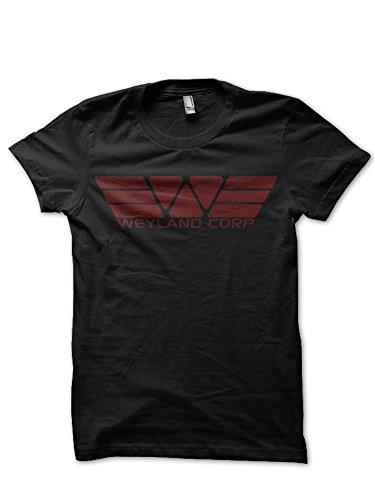 Weyland Corp.–Alien, Herren T-Shirt, Schwarz Gr. M, schwarz (Alien-tee)