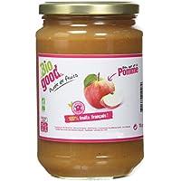 BIO GOOD Pot Familial de Purée de Pomme Bio Française sans Sucres Ajoutés 700 g -
