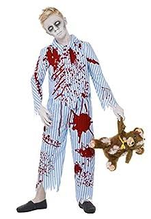 Smiffys Costume garçon pyjama zombie, Bleu, avec haut & pantalon (B00AZGBNDW) | Amazon Products